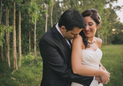 Boda al atardecer en Chacra La Cachimba - Silvana y Martín