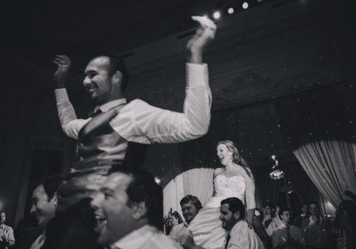 Ceremonia al atardecer en el Hotel del Prado - Andrea y Martín