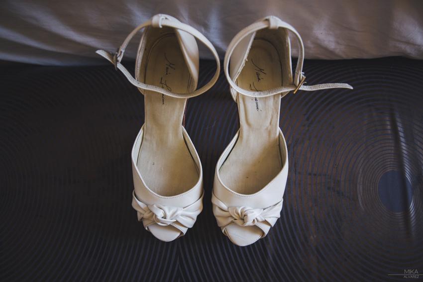 Zapatos de novia Maria Lumaconi