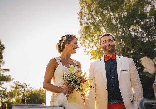 Ceremonia al atardecer en CasaBlanca - Sabri y Maxi