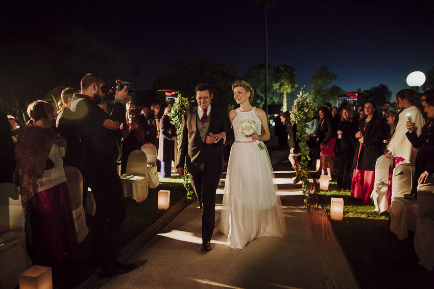 boda en la joaquina - ceremonia al aire libre - iYc02