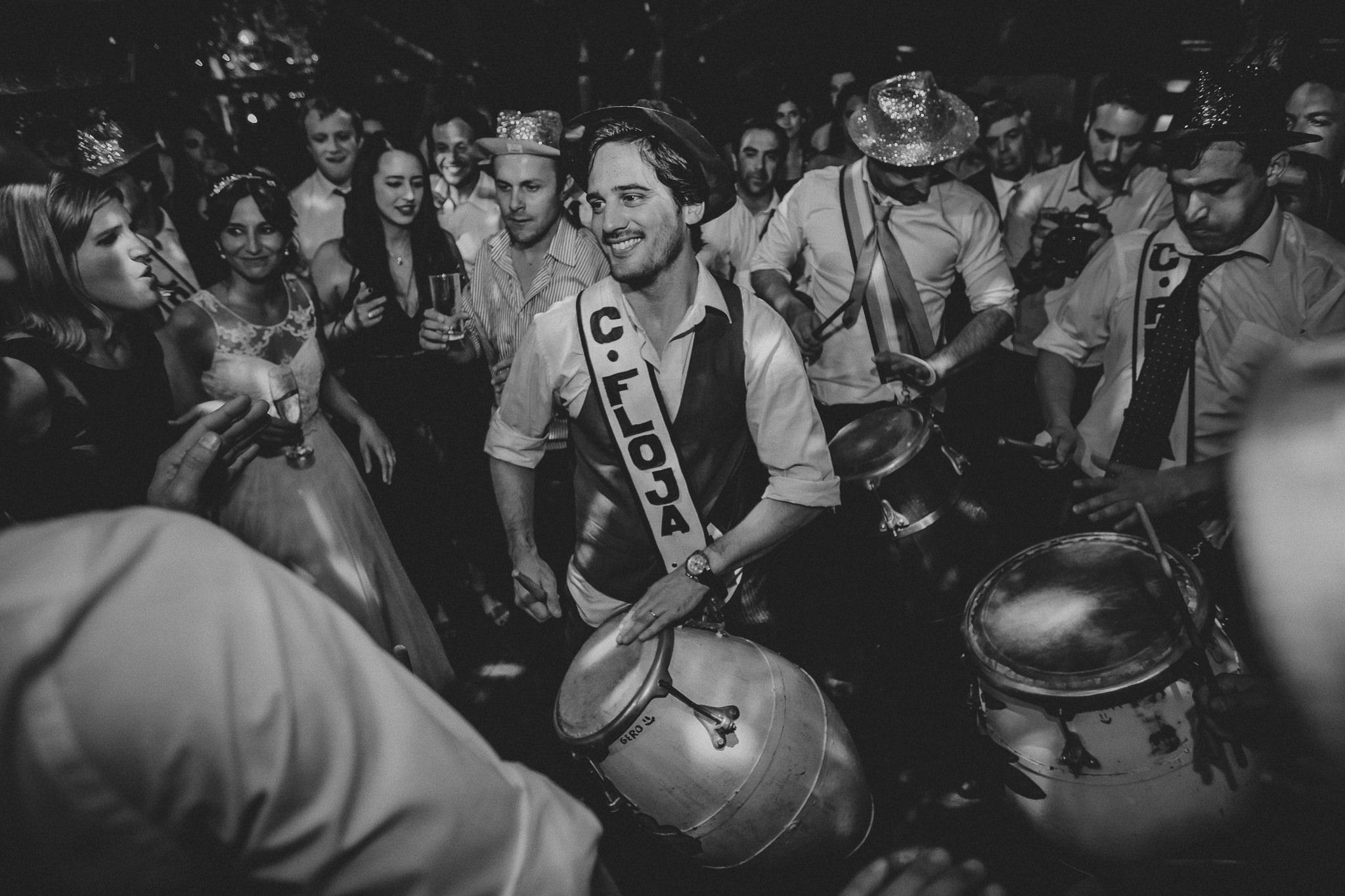cuerda de tambores en boda - I&P87
