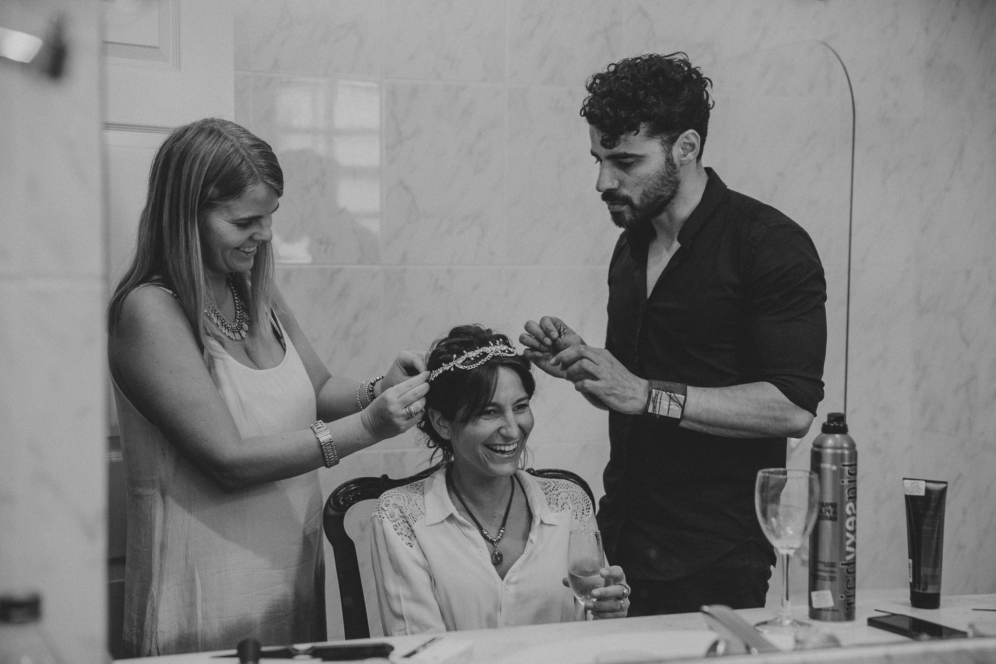 preparativos de novia - fotografo uruguay
