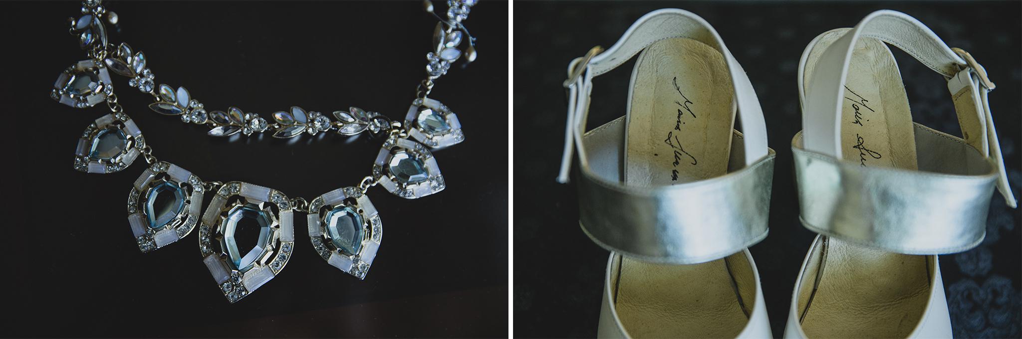 zapatos de novia maria lumaconi - tocado de novia uruguay
