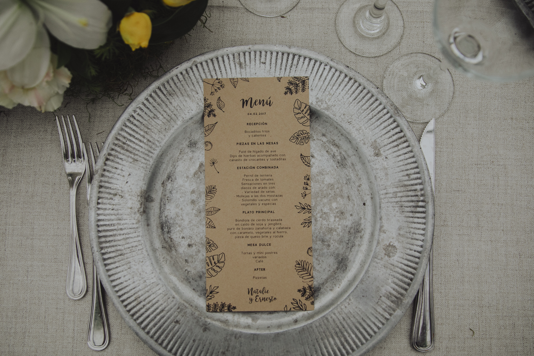 invitaciones de boda - membrete -montevideo, uruguay - nye