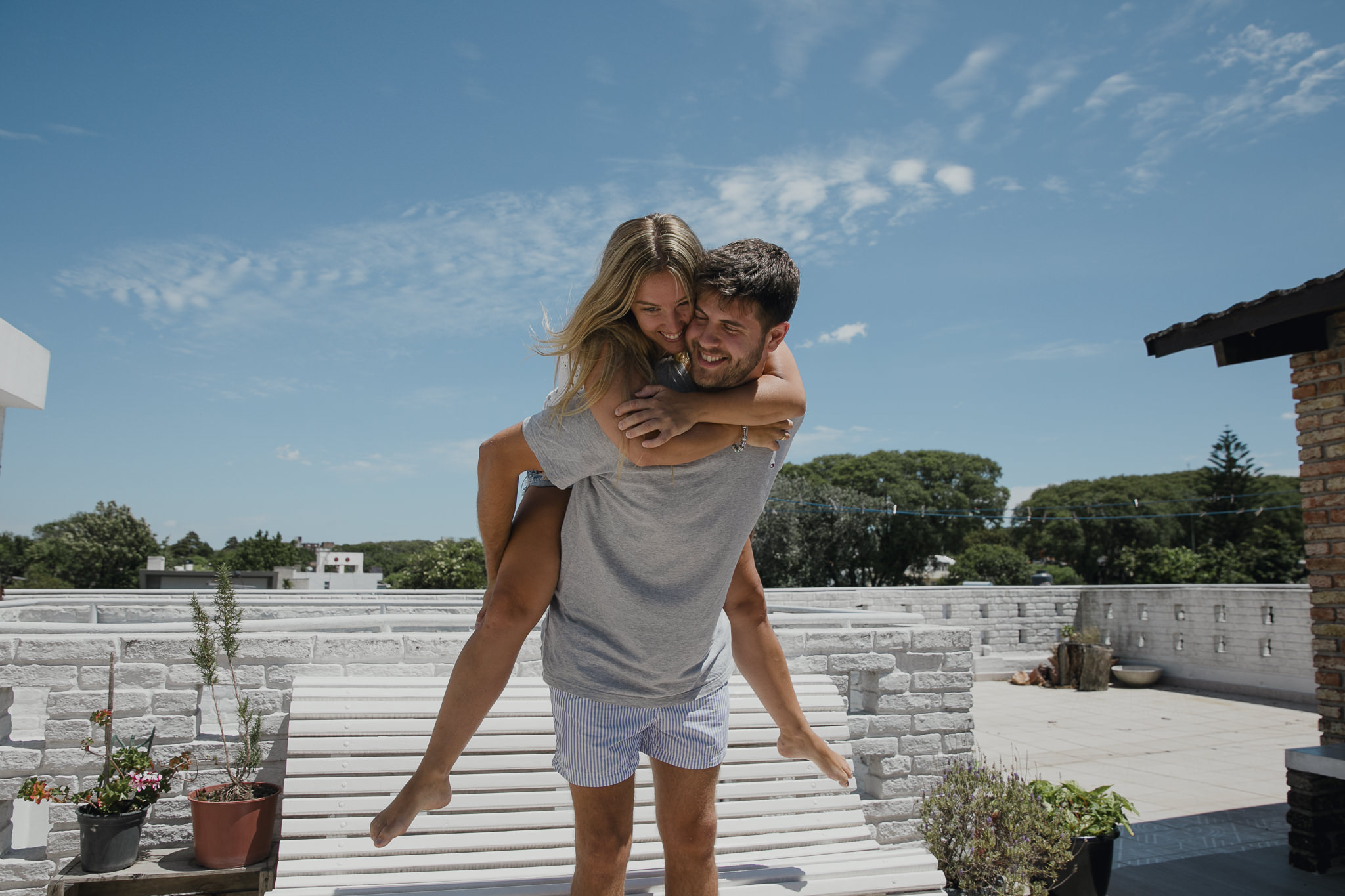 love session uruguay, sesion preboda en casa