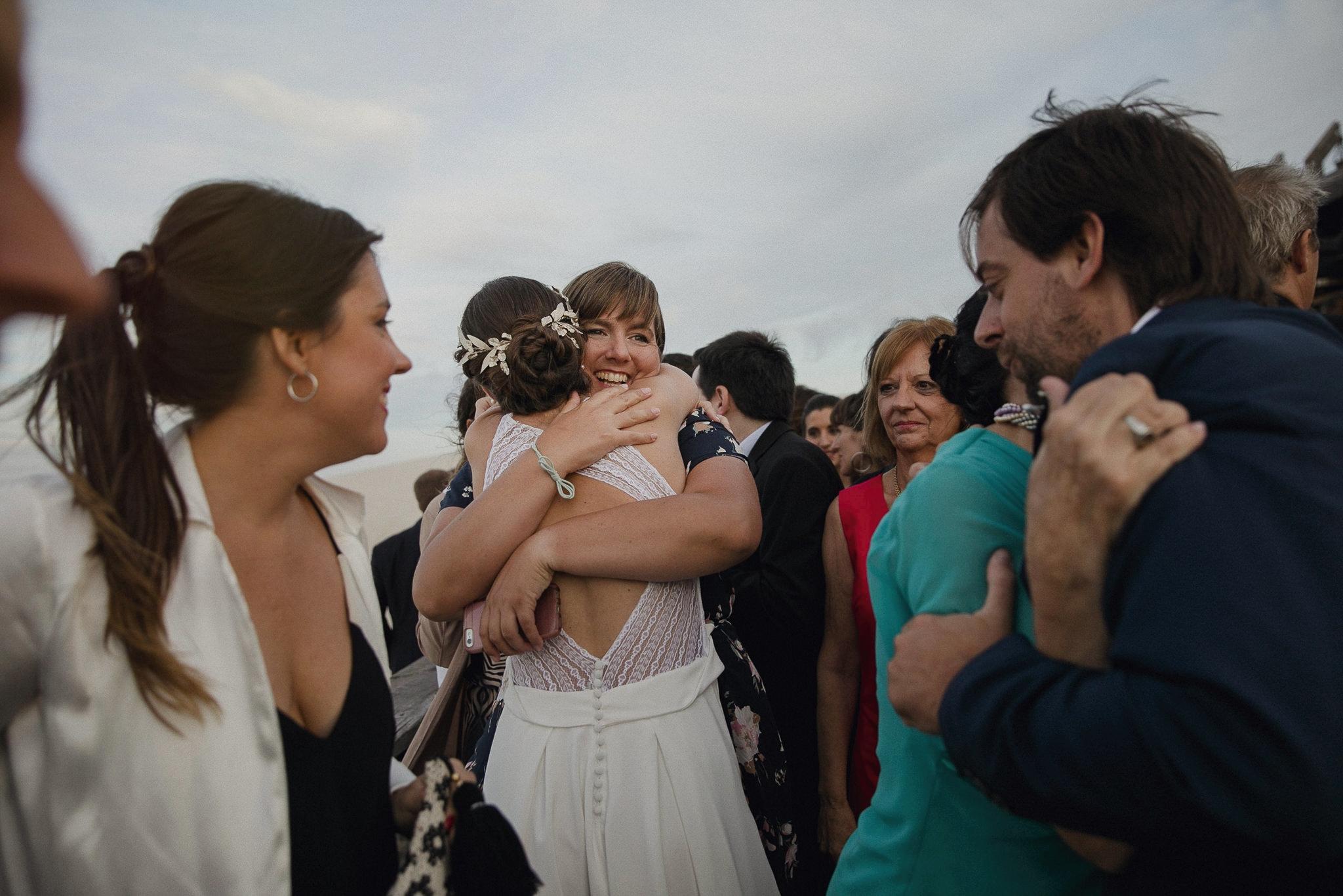 casamiento en el pinar - boda al atardecer